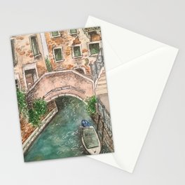 Venice Streets Stationery Cards
