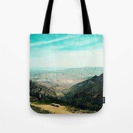 Laguna Mars Mountains Tote Bag