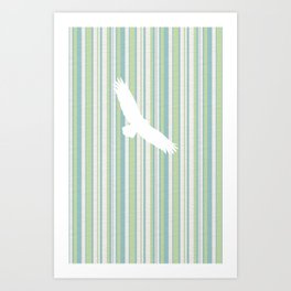 Spread Eagle Art Print
