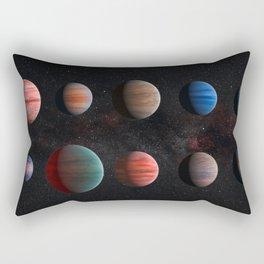 Planets : Hot Jupiter Exoplanets Rectangular Pillow