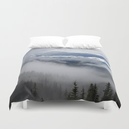 Travell The Valley of Mist Duvet Cover