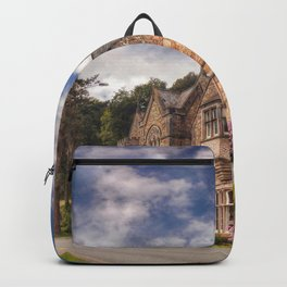 Gothic Victorian Mansion Backpack