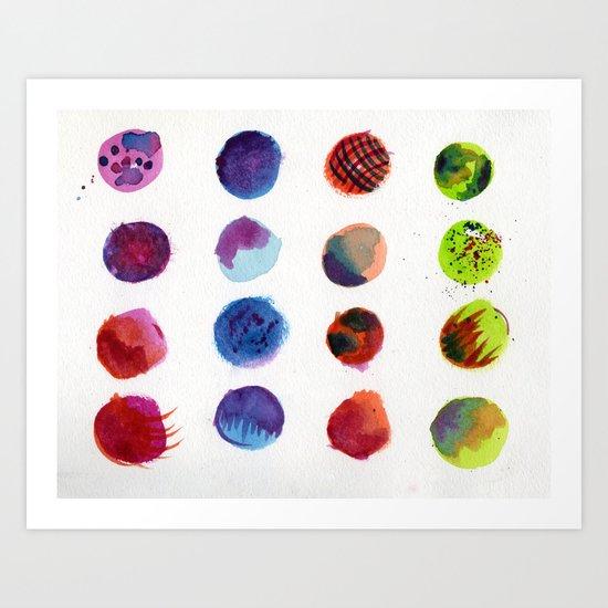 Dot Com Art Print
