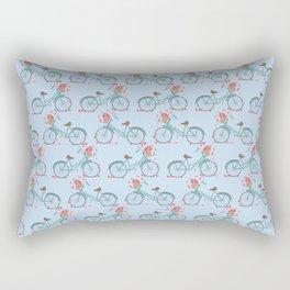 Bicycle Rides Rectangular Pillow