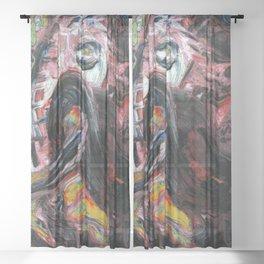 The Raging Bull Sheer Curtain