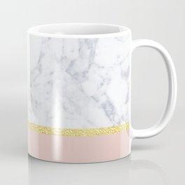 Marble Peach Coffee Mug