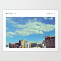 las vegas Art Prints featuring Las Vegas by In Full Color
