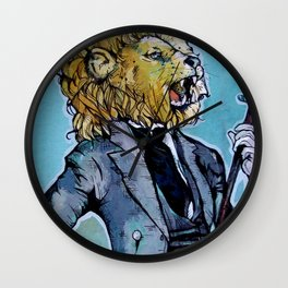 the Dandy Lion Wall Clock