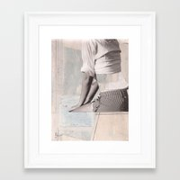 booty Framed Art Prints featuring BOOTY by dara dean