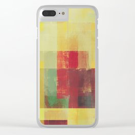 Abstract Geometry No. 22 Clear iPhone Case