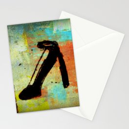 Color At The Heel Stationery Cards