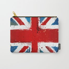 Grungy UK flag Carry-All Pouch