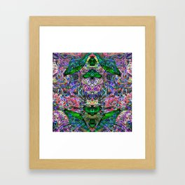 Butterfly of the Mind Framed Art Print