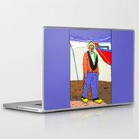 clown Laptop & iPad Skins featuring clown by Karl-Heinz Lüpke