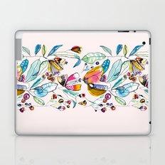 Flowers in the Wind Laptop & iPad Skin