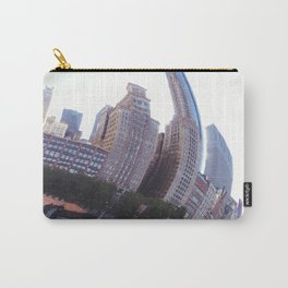 Reflecting, Chicago City in Cloud Gate Carry-All Pouch
