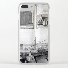 Johannes Hevelius - Celestial Devices, Part 1 - Plate 3 Clear iPhone Case