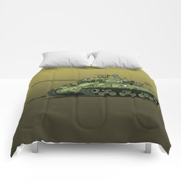 Dogs of War: Sherman Tank Comforters