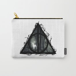 Deathly Hallows - Prongs in the forest with brenches | Marauders - Potterhead - Patronus Carry-All Pouch