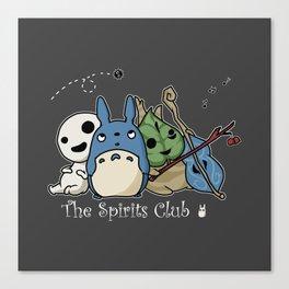 The Spirits Club Canvas Print