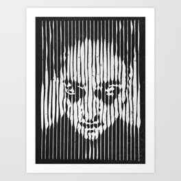 no casualities - b&w version Art Print