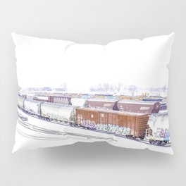 Cold Trains Pillow Sham