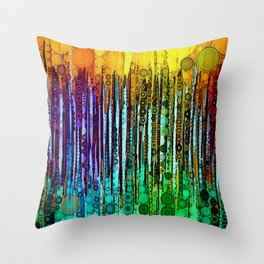 :: Cheers :: Throw Pillow