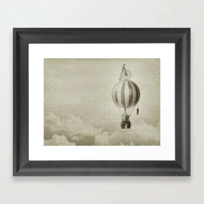 riding high 02 Framed Art Print