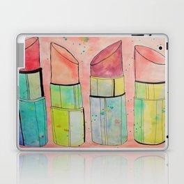Lipstick Splatter Laptop & iPad Skin
