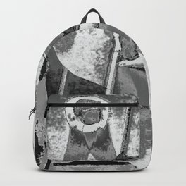 faucet face b&w triad Backpack