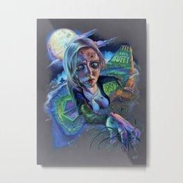 Night of the Living Buffy Metal Print