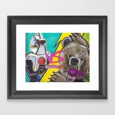 Bears Beets Battlestar Galactica Framed Art Print