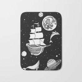 Space Whales Bath Mat