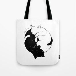 Eternal Cat Love Tote Bag