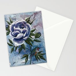 Peony Twilight Remix Stationery Cards