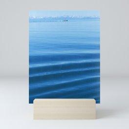 Ship in the Distance Vertorama Mini Art Print