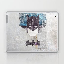 Bat grunge superhero Laptop & iPad Skin