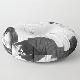 Jane Fonda Mug Shot Horizontal Floor Pillow