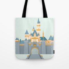 Sleeping Beauty Castle Tote Bag