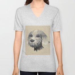 Cute Dog Unisex V-Neck