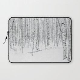 Swedish Birch Trees Laptop Sleeve