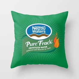 Go Greenwash Throw Pillow