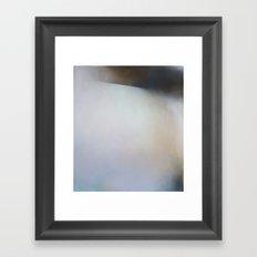 New Salt - Abstract landscape painting art Framed Art Print