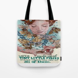 Tiny Little Pieces Tote Bag