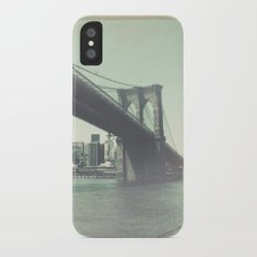 Find Me in New York Slim Case iPhone X