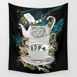 Alice in Wonderland Cheshire Cat Wall Tapestry