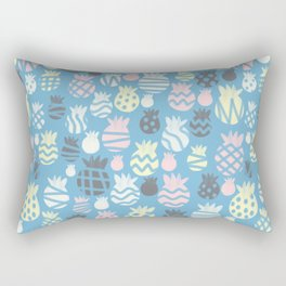 It's raining pineapples Rectangular Pillow
