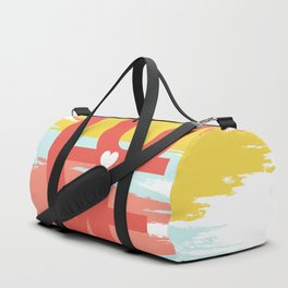 love abstract background Duffle Bag