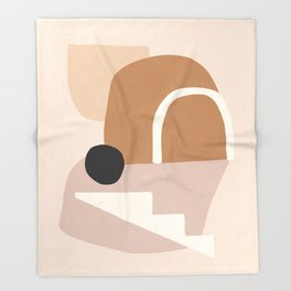 abstract minimal 24 Throw Blanket