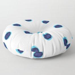 Happy Blues Floor Pillow